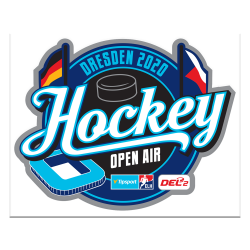 Hockey Open Air - Dresden 2020 - Aufkleber - 10cm